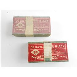 32 S&W BLACK AMMO
