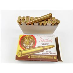WEATHERBY .300 W.M. MAGNUM AMMO