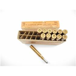 WINCHESTER 30-03 GOVERNMENT MODEL 1903 SOFT POINT AMMO