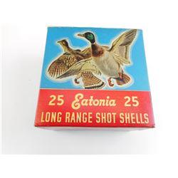 EATONIA 12 GAUGE #5 SHOT SHOTGUN SHELLS