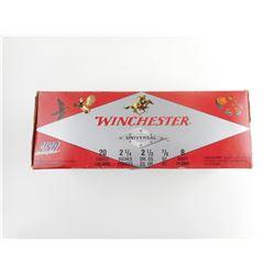 WINCHESTER 20 GAUGE SHOTSHELLS