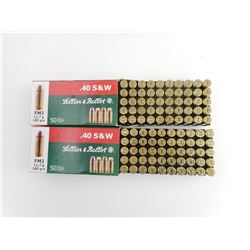 SELLIER & BELLOT .40 S&W AMMO