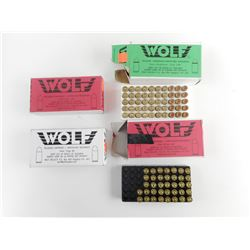 WOLF 9MM FACTORY RELOADED AMMO
