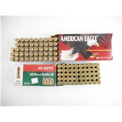 AMERICAN EAGLE 45 AUTO, SELLIER & BELLOT 45 AUTO