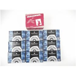 "FEDERAL 12 GA 2 3/4"" RIFLED SLUG HP, CHALLENGER 12 GA SHOTSHELLS"