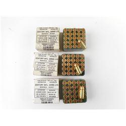 CENTRUY INTL. ARMS LTD 7.65 (32ACP) FMJ AMMO