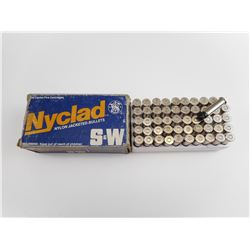 NYCLAD 38 SPECIAL + P SEMI-WADCUTTER AMMO