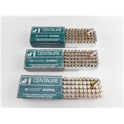 CENTAURE .38 SPECIAL FACTORY RELOADED AMMO