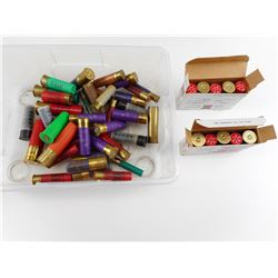 SHOTGUN SHELLS ASSORTED GAUGES, DUMMY'S
