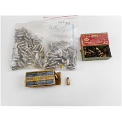 .32 COLT AUTOMATIC, 32 S&W BLACK, 32 ACP DUMMY ROUNDS INERT FOR BULLETS .306-08