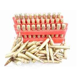 223 REM ASSORTED AMMO, BRASS CASES