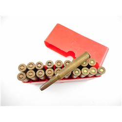 7 X 64 AMMO, IN PLASTIC AMMO BOX