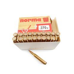 NORMA .270 WIN AMMO