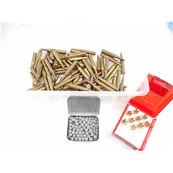 RIFLE, PISTOL ASSORTED AMMO