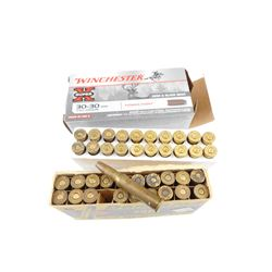 DOMINION 30-30 WIN AMMO, WINCHESTER BRASS CASES