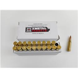 XMETAL .308 WIN FACTORY RELOADED AMMO