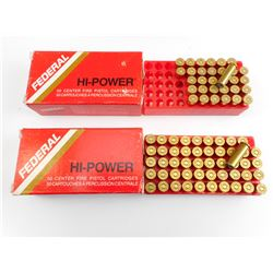 FEDERAL 38 SPECIAL MATCH AMMO
