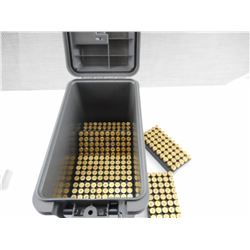 45 AUTO RELOADED AMMO, IN PLASTIC AMMO BOX
