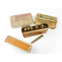 .38-72 WIN RELOADED AMMO, COLLECTOR BOXES