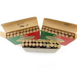 9.3 X 74 R BRASS, RESIZED AND  RELOADED TO 35 WIN  AMMO