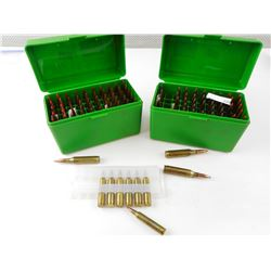 .243 WIN RELOADED AMMO, 204 RUGER AMMO