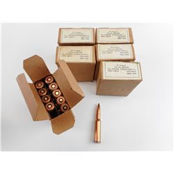 7.62 X 54R, COPPER WASHED AMMO
