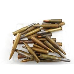 MILITARY ASSORTED AMMO, BLANKS