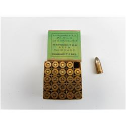 9MM AMMO, MADE IN FRANCE