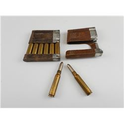 SWISS SCHMIDT RUBIN AMMO, STRIPPER CLIPS