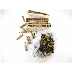 .45 ACP, 1956 US MILTARY FA 7.62 X 51 MATCH BRASS CASES