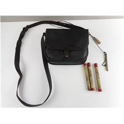 MUZZLE LOADER SUEDE POSSIBLES BAG, WITH SOME ACCESSORIES