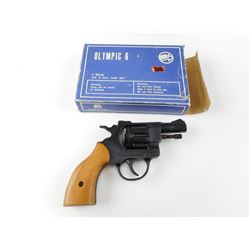 OLYMPIC 6 STARTER PISTOL AND BOX