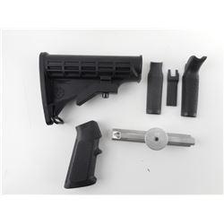 AR-15 M-4 STOCK, PISTOL GRIP