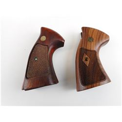 SMITH & WESSON K-L FRAME WOODEN GRIPS