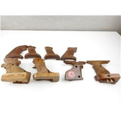 UNKNOWN TARGET STYLE WOOD GRIPS