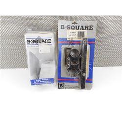 ASSORTED B-SQUARE SCOPE MOUNTS