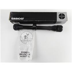 TASCO PRONGHORN 4X32MM SCOPE IN BOX WITH INSTRUCTIONS