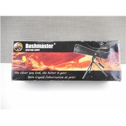 BUSHMASTER 20-60X60 SPOTTING SCOPE WITH CASE AND TRIPOD
