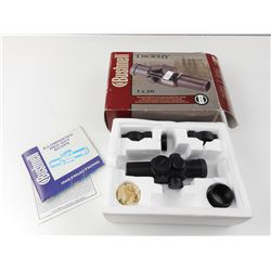 BUSHNELL TROPHY 1X30 RED DOT WITH SCOPE RINGS, AND BOX