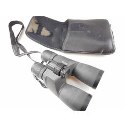 PENTAX 16X50 BINOCULARS WITH LENS CAPS AND IN CARRYING CASE
