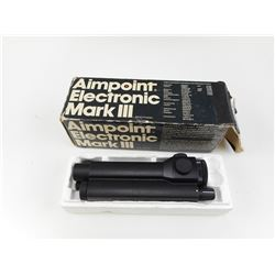 AIMPOINT ELECTRONIC MARK III RED DOT, IN BOX