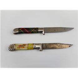 GERMAN PANDA KNIVES. NO SHEATH