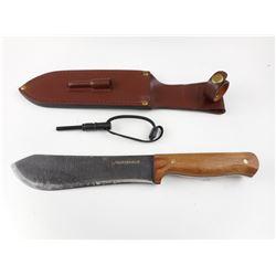 HUNTSHIELD BOWIE KNIFE WITH SHEATH