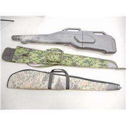 GUN GUARD ATV GUN CASE, GREEN CAMO SOFT CASE, BUSH MASTER OUTDOORS SOFT CASE