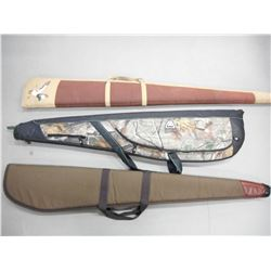ASSORTED SOFT PADDED GUN CASES
