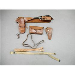 COLT TYPE SMALL FRAME HOLSTERS AND BELTS