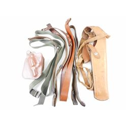 LEATHER HOLSTERS AND ASSORTED SLINGS