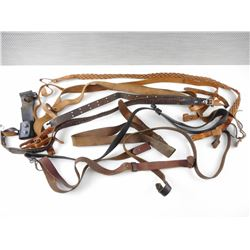 ASSORTED LEATHER SLINGS