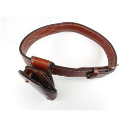 ERNIE HILL BELT AND HOLSTER