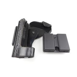 ERNIE HILL SPEED LEATHER HOLSTER AND MAGAZINE HOLDER
